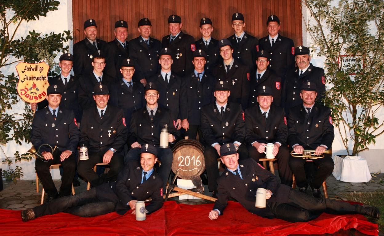 Gesamtbild der Freiwilligen Feuerwehr Hausen bei Buchloe im Ostallgäu